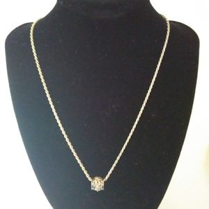 """Jewelry - Silver Hawaii Hibiscus 18"""" Necklace"""